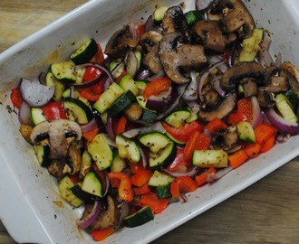 Herby Roasted Vegetables Recipe