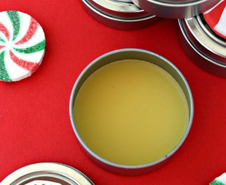 DIY Peppermint Lip Balm with Free Printable Label