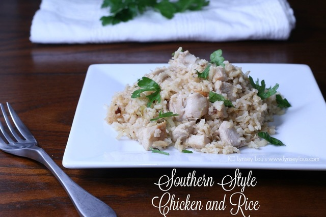 Southern Style Chicken and Rice