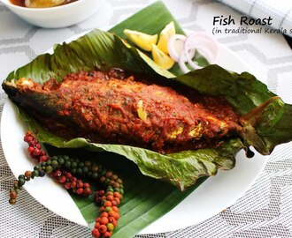 FISH ROAST - KERALA STYLE MACKEREL FISH ROAST