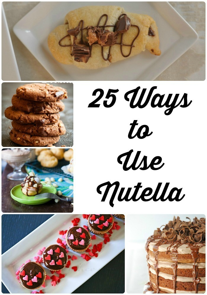 25 Ways to Use Nutella