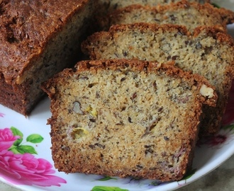 Basic Banana Bread Recipe - Bakery Style Banana Bread Recipe