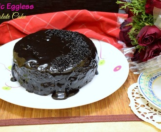 Basic Eggless Chocolate Cake