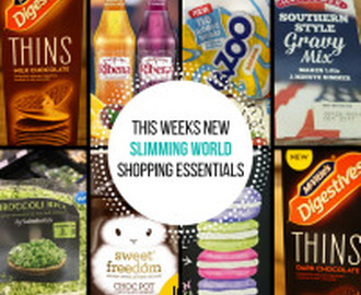 New Slimming World Shopping Essentials – 21/1/16