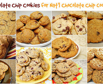 10 Chocolate Chip Cookies for Nat'l Chocolate Chip Cookie Day!