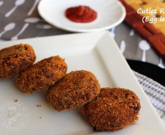 CUTLET RECIPE - HOW TO MAKE PERFECT BEEF CUTLET / EGGLESS RECIPES