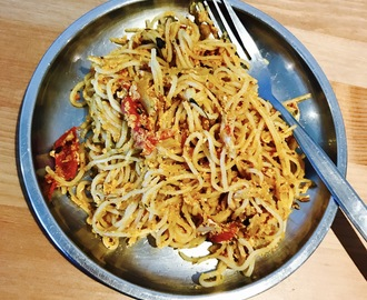 Masala Egg Noodles (Indian style)