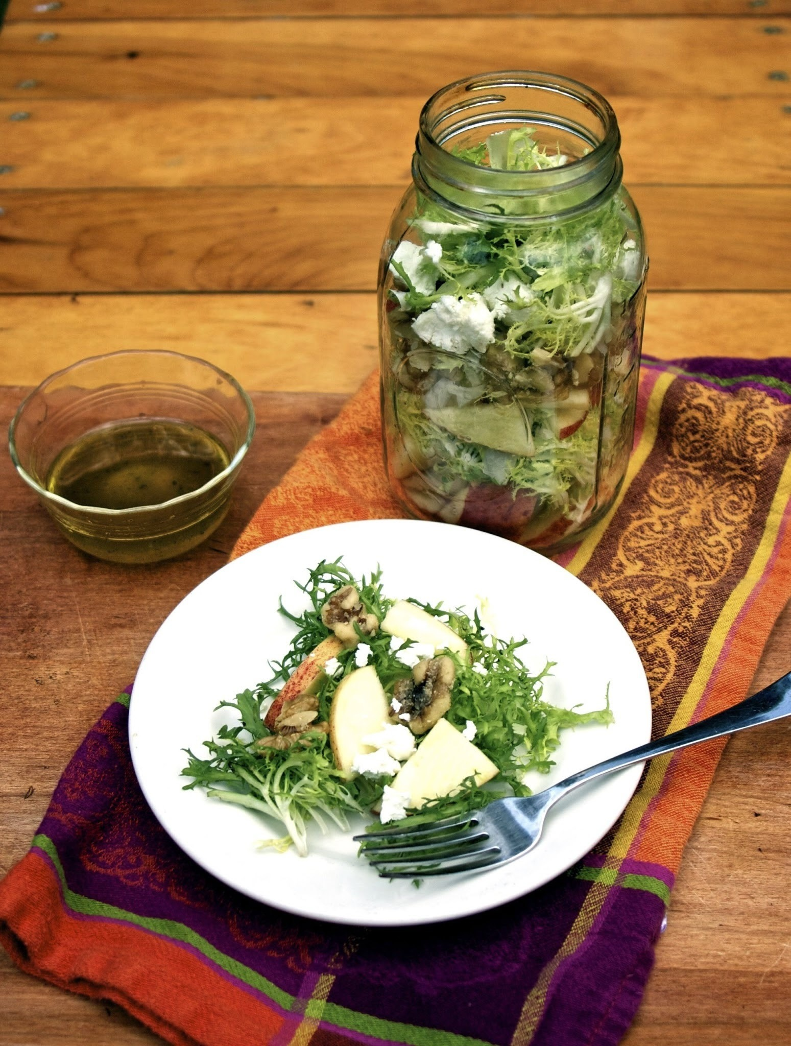 Mason Jar Salads: 50 Layered Lunches to Grab and Go #Healthy Eating #Weekly Menu Plan
