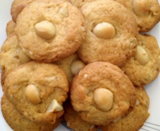 Candied Orange & Macadamia Biscuits