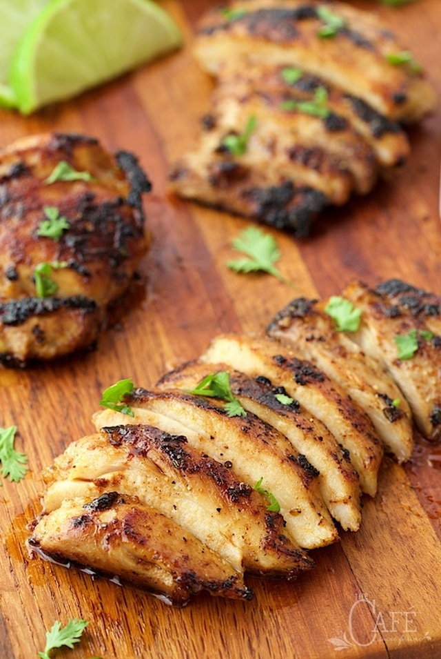 Mexican Honey-Lime Grilled Chicken