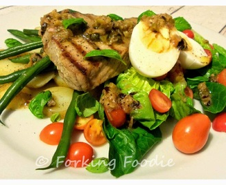 Seared Tuna Nicoise Salad (includes Thermomix method)