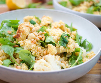 Roasted Cumin Cauliflower and Millet Salad