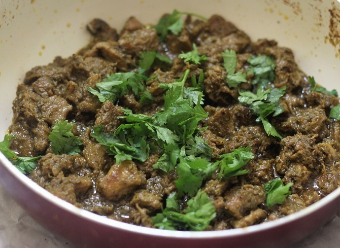 Spicy Mutton Fry Masala Recipe, Spicy Gosht Fry