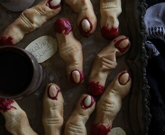 Halloween Witches' Fingers