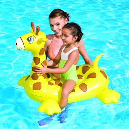 GIRAFFE POOL FLOAT CLEAR POOL
