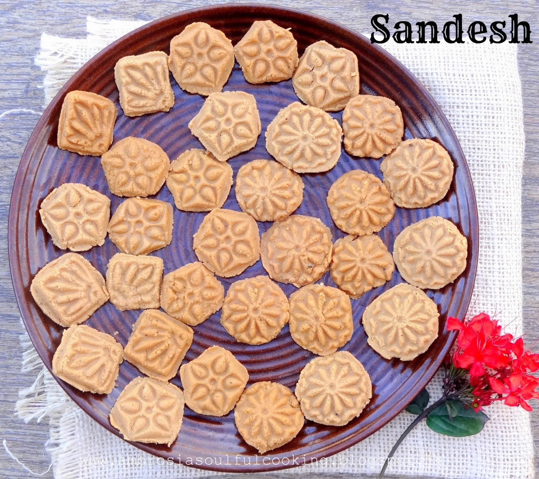 Nolen Gur Sandesh | Sandesh with Date Palm Jaggery
