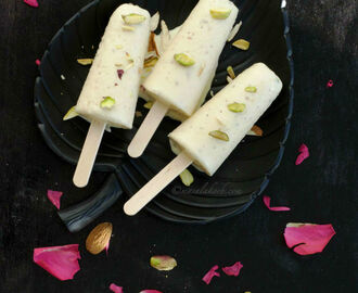 Kesar Badam Kulfi | Almond Kulfi Recipe | How to make Kulfi at Home | Kulfi Ice Recipe | Kulfi Indian Dessert