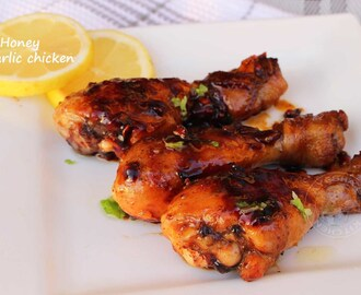 HONEY GARLIC CHICKEN - CHICKEN DRUMSTICK RECIPES