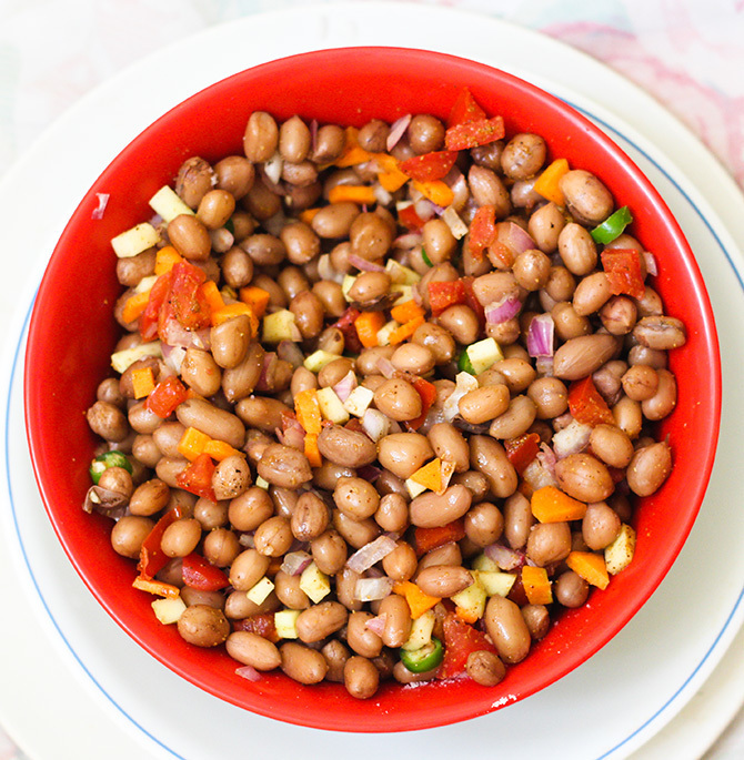 Peanut Chat Masala Recipe, How to make peanut chat