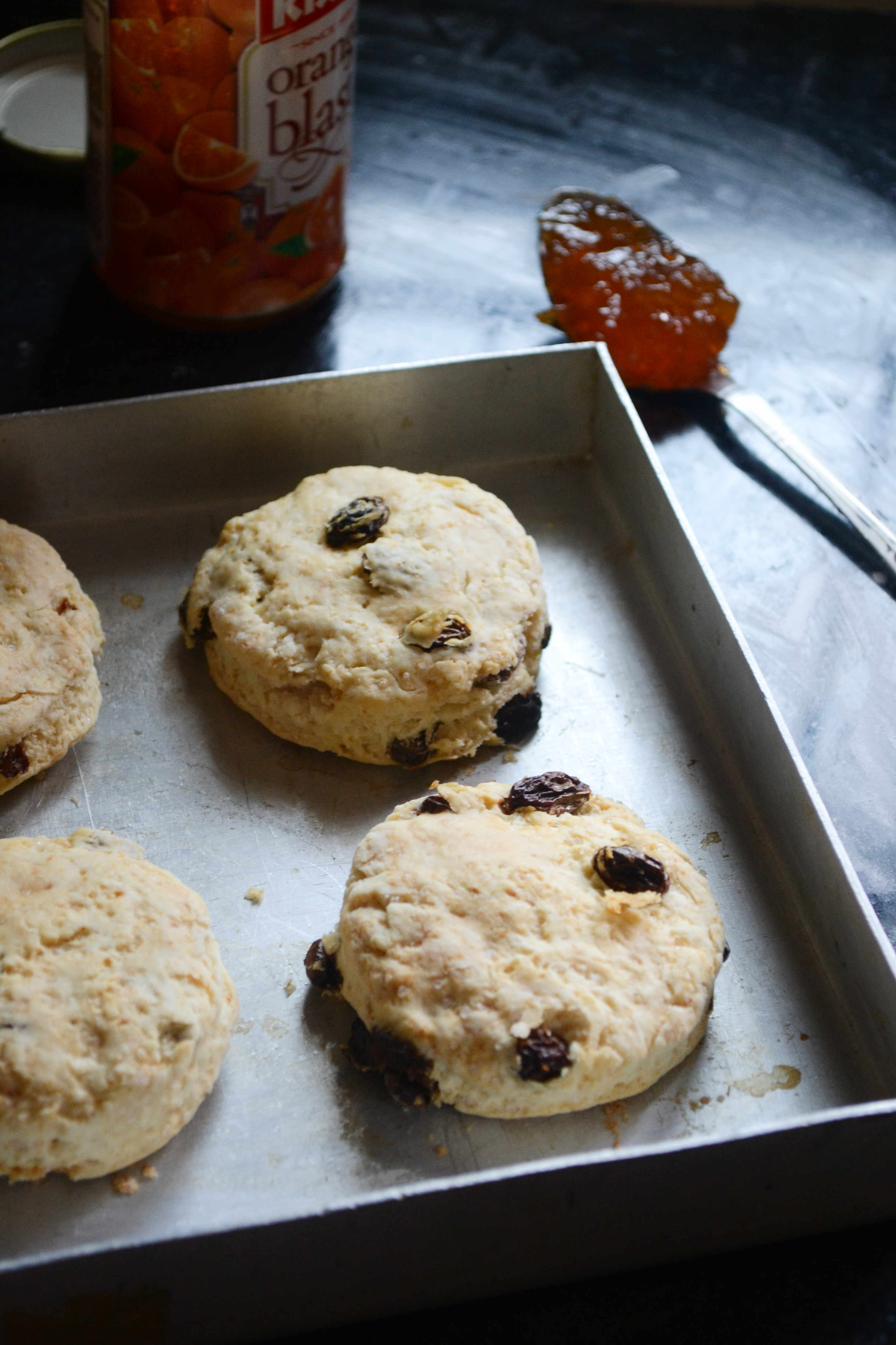 Egg Free Irish Raisin Tea Scones – #BreadBakers