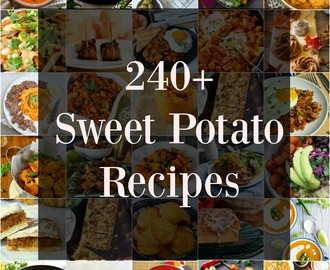 240+ SWEET POTATO RECIPES TO MAKE THIS FALL