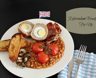 Breakfast Delights: Scotch Egg Fry Up