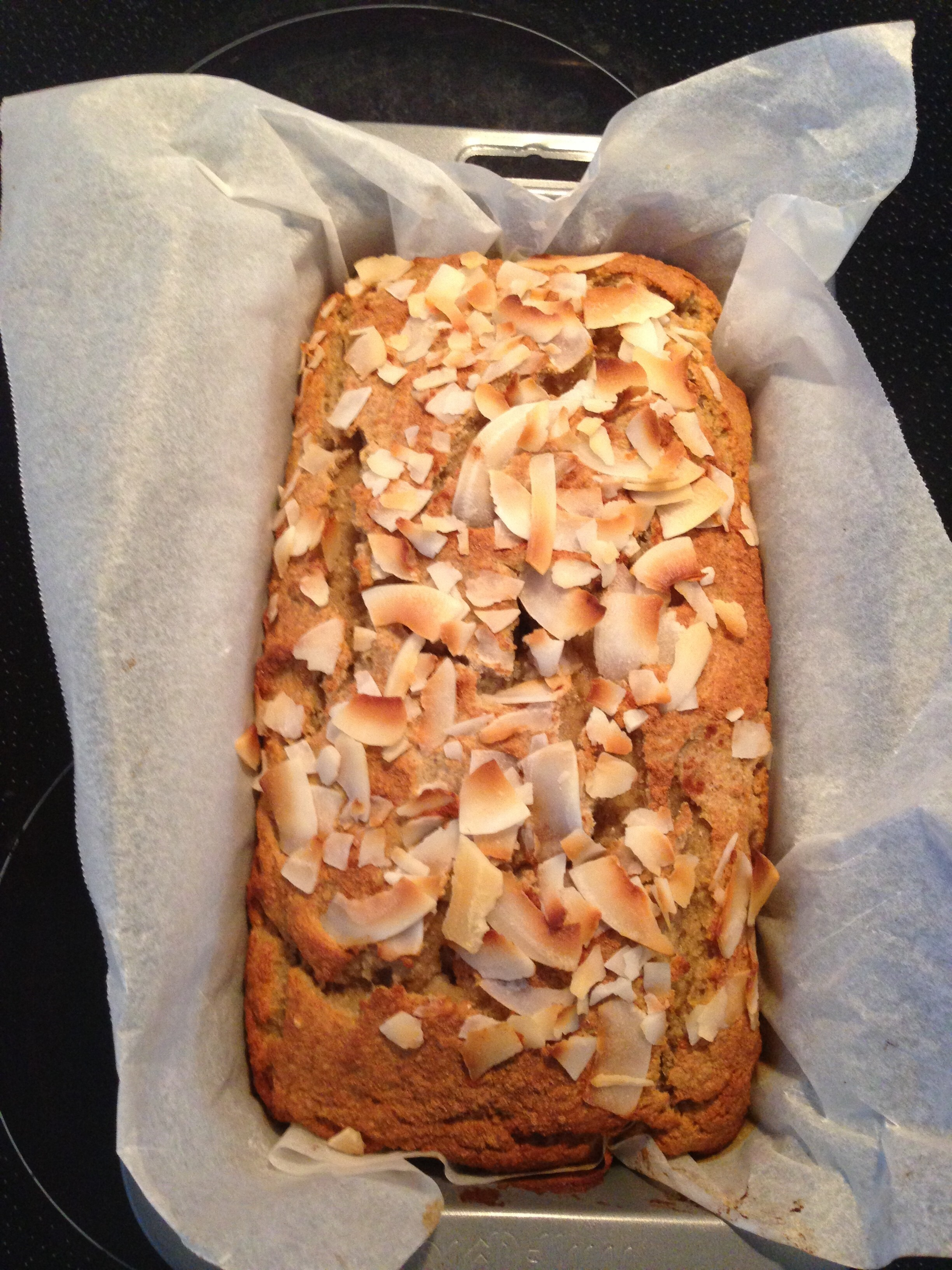 Banana Coconut Bread (Paleo)