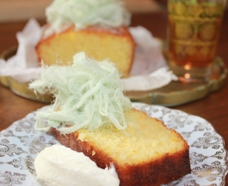Semolina, Coconut and Marmalade Cake with Orange Blossom Syrup