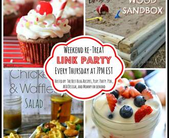The Weekend re-Treat Link Party #72