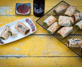 Sausage rolls (Vego & Meat versions): The Perfect School Holiday food