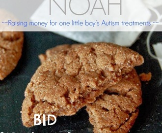 Flourless Chocolate Cookies (Bake Sale for Noah)