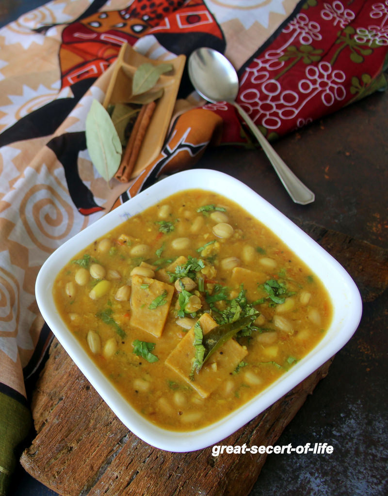 Dal Dhokli Recipe - Healthy one pot meal - Vegan side dish - No Onion, Garlic dal