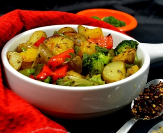 Baby Potato and Broccoli Stir Fry | Stir Fry Recipes | Baby Potato Recipe