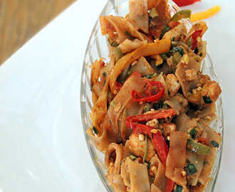 Pad Thai Noodles Recipe.