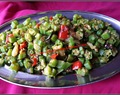 STIR-FRIED LADIES FINGER / OKRA