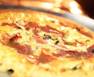 Pizza de Liquidificador
