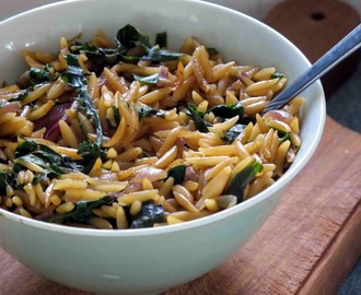 Spinach Risone: A One Pan Meal