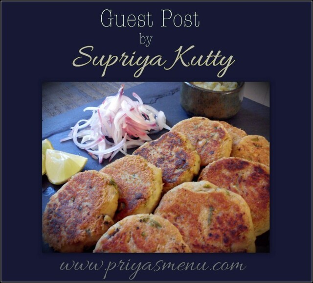 Chicken Shami Kebabs - Guest Post by Supriya Kutty from www.quichentell.com