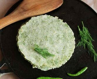 Dill Leaves Rotti | Sabsige Soppina Rotti