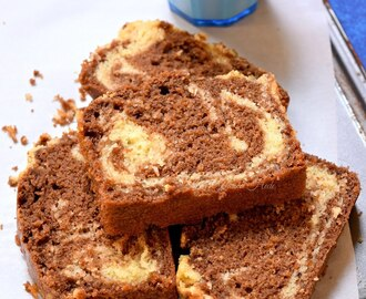 Chocolate Marble Cake - Dump Cake Recipe