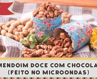 Amendoim Doce com Chocolate