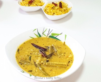 Muringaka parippu curry