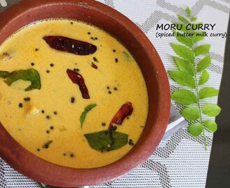 SPECIAL MORU CURRY - SPICED BUTTERMILK CURRY / KERALA RECIPES