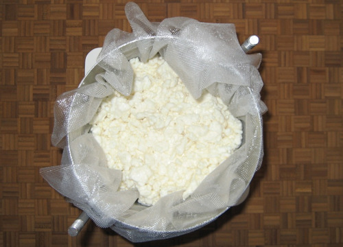 Cottage Cheese / Curd Cheese UK Recipe