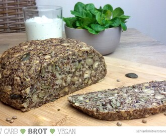 low carb Brot vegan