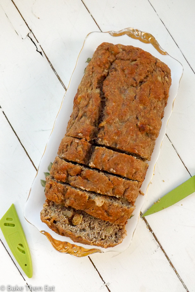 Easy Sugar Free Banana Bread
