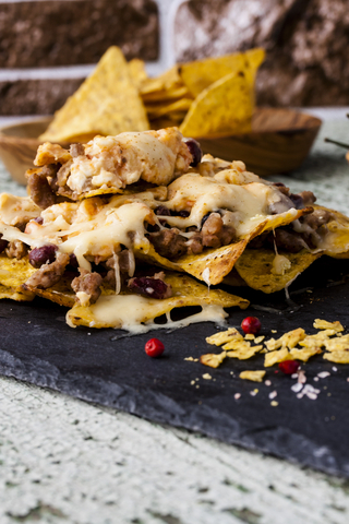 Mexicali Nachos with Beef and More