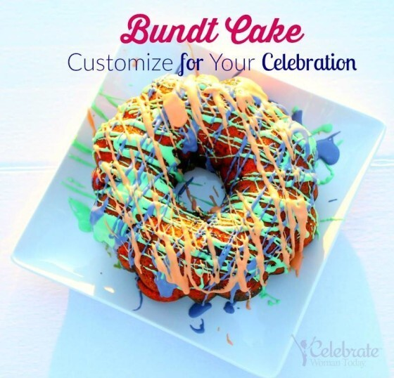 Bundt Cake to Customize To Your Celebration {#12DaysOf Mother's Day}