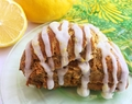 Gluten-free Lemon Ginger Scones