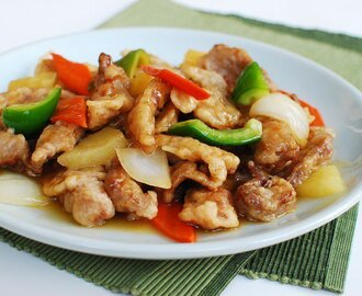 Resep Membuat Tangsuyuk ( Sweet And Sour Beef )